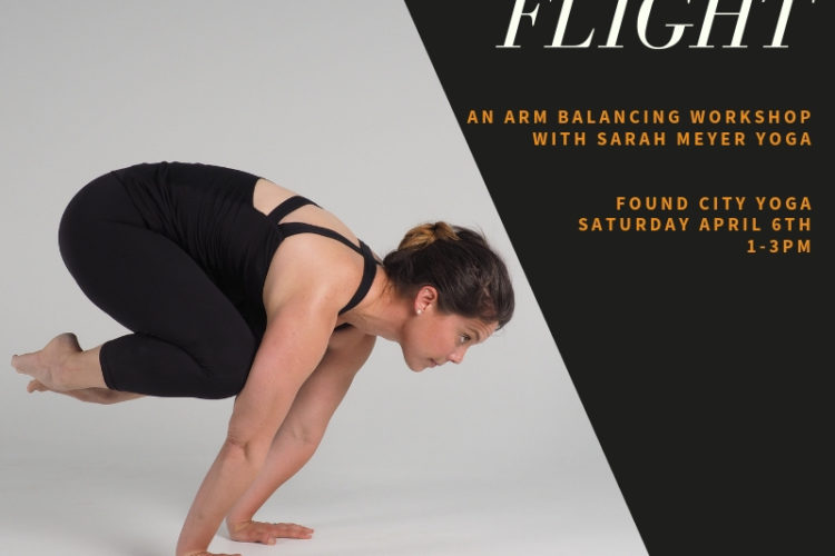 Finding Flight – An Arm Balance Workshop